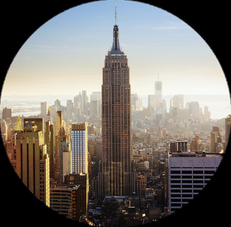 new york -rond